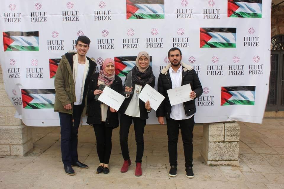آراب: فريق من بيرزيت يتأهل للمرحلة الإقليمية من مسابقة THE HULT PRIZE!