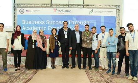 بِروح العمل الجماعي، منافسة مميزة بين جامعات الوطن في مسابقة TechCamp